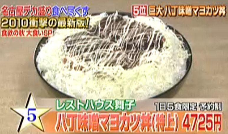 「食欲の秋」2大デカ盛り食べ尽くし企画【デカ盛り編】