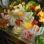 野菜をたくさん食べられるお店!