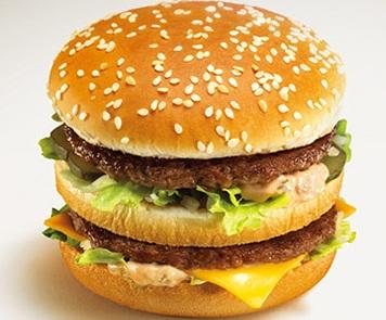 マクドナルドハンバーガー 売り上げ数ベスト3