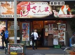 「すしざんまい」の人気の寿司ネタベスト5