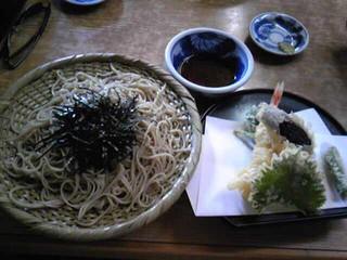 田山涼成さんお勧めの店(深大寺)