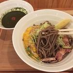 話題のオシャレ蕎麦(そば)店