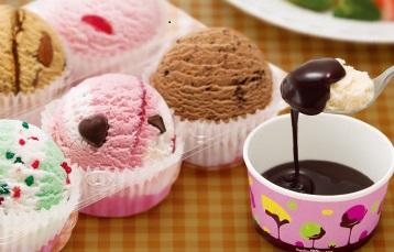 グッドモーニングで放送。新感覚アイスクリーム