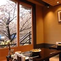 満開の桜が間近に楽しめる話題のお店